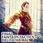 the uncommon king: FFT - Delita Heiral