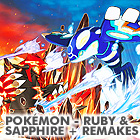 Coexistence: Pokemon - Ruby and Sapphire + remakes